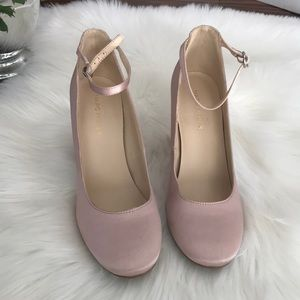 Marc Fisher light pink shoes